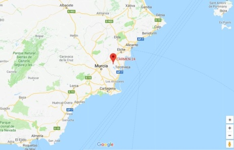 CARMEN 24 - Google Maps