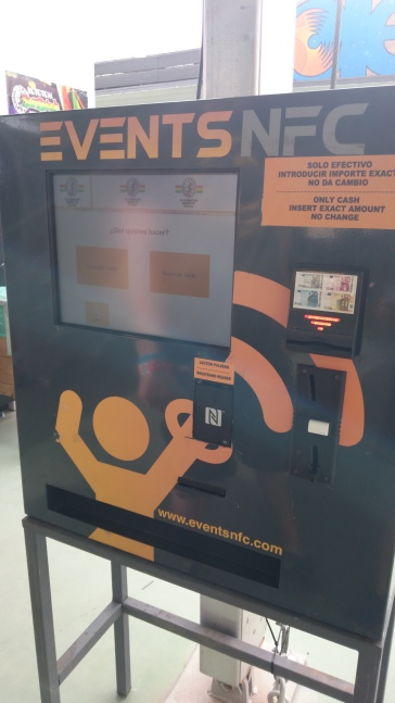 Cashless Till Machine