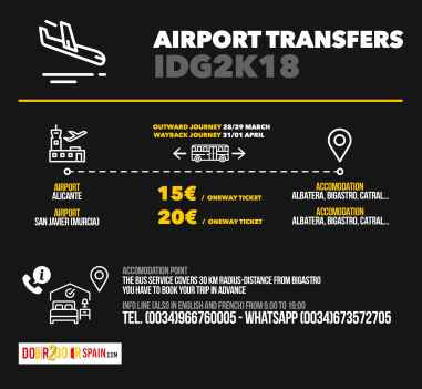 IDG 2018 Airport Transfers