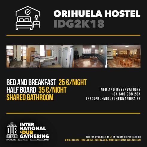 IDG 2018 Orihuela Hostel
