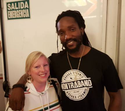 Dj Skirtbag and Kabaka Pyramid Rototom Sunsplash 2018